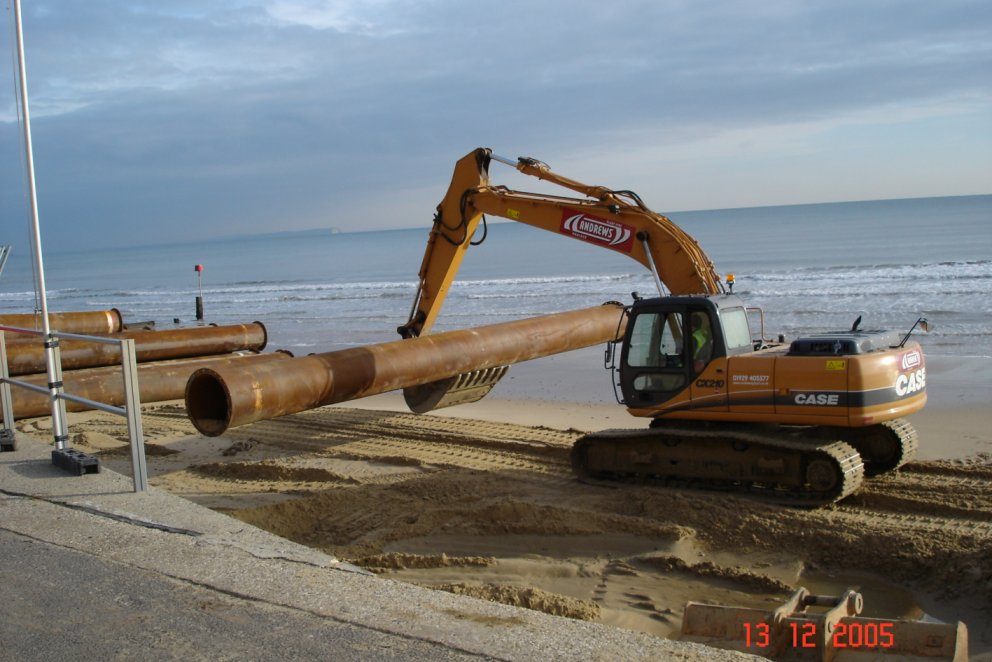 Swanage, Poole & Bournemouth Beach Replenishment 2005/06