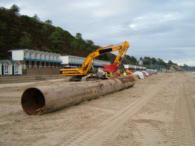 Bournemouth Beach replenishment 2006/07
