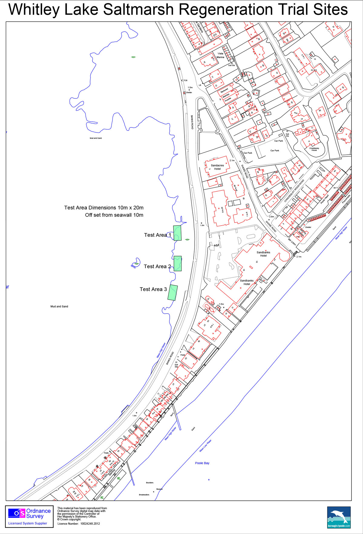 Saltmarsh Regeneration Trial Sites