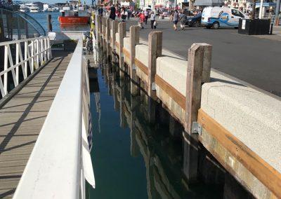 Poole Quay flood defences 2019