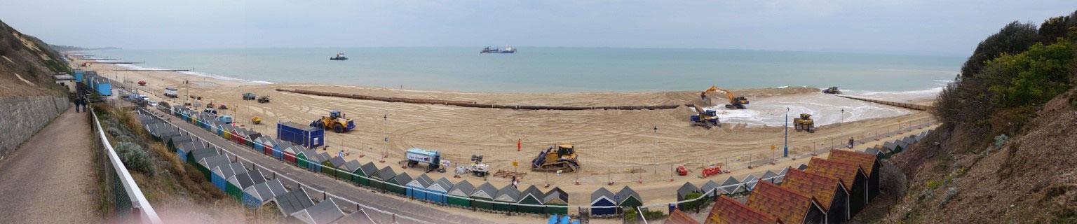 Bournemouth Beach Replenishment winter 2015/16
