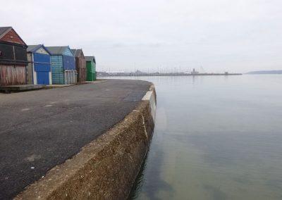 Hamworthy Sea Wall Maintenance Repairs 2016