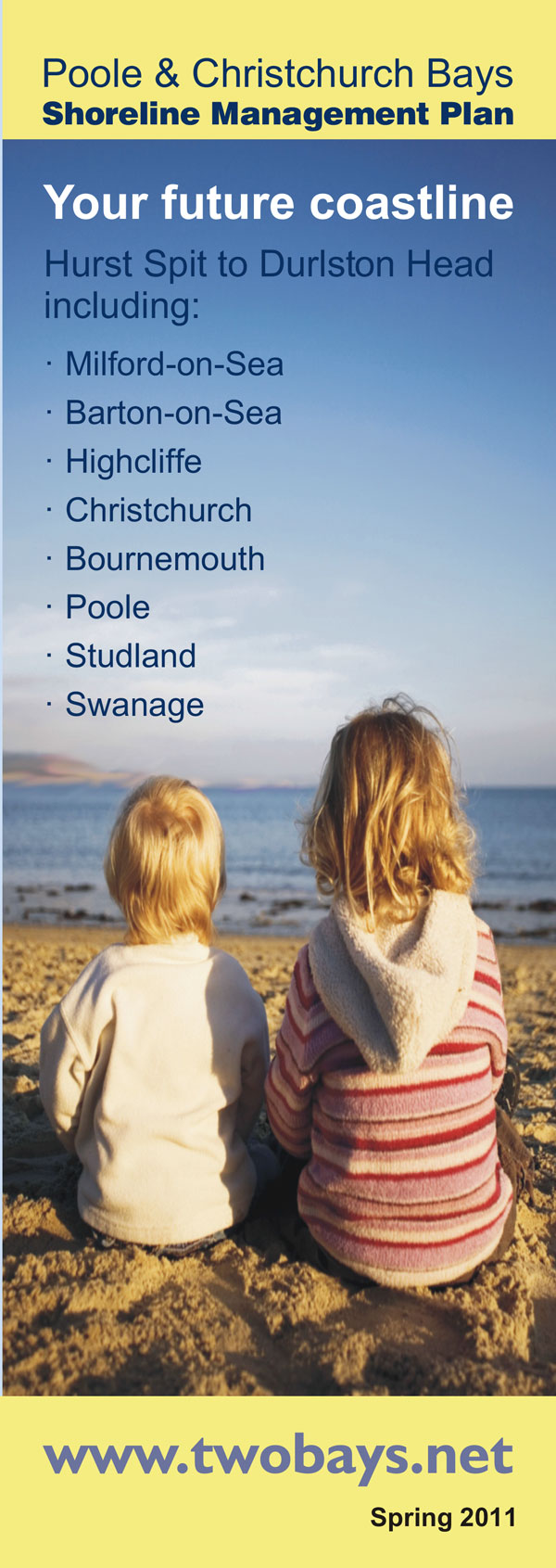 Poole and Christchurch Bays SMP leaflet, Spring 2011