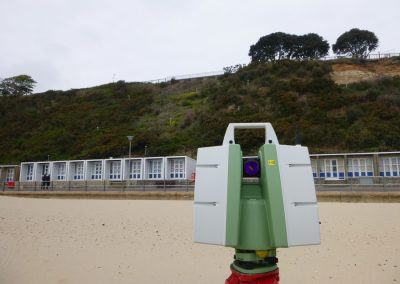 6. The laser scanning equipment used to do the survey can record information to within a few millimetres of accuracy