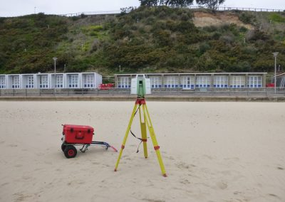 7. The scanner also has an in-built camera which takes photographic images of the cliff to add colour to the 3D dataset