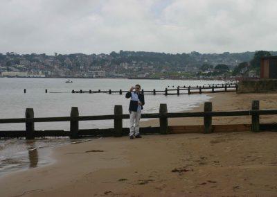 Swanage beach 10 September 2005