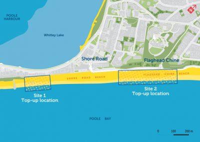 Flaghead and Shore Road beach renourishment