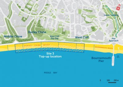 West Cliff to Middle Chine beach renourishment